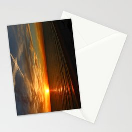 Fiery Evening Sky Stationery Cards