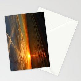 Fiery Evening Sky Stationery Cards