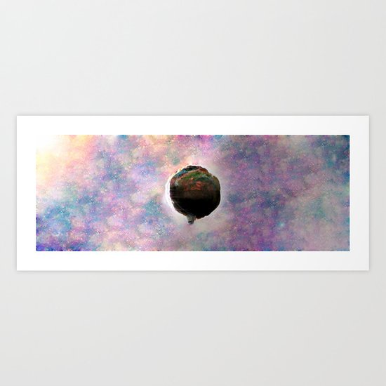 Keep Calm And Float On Art Print