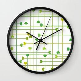 CORAZONES VAN Wall Clock