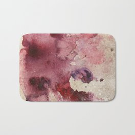 Garnet Color Splash Bath Mat