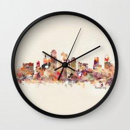Kansas City Missouri Wall Clock