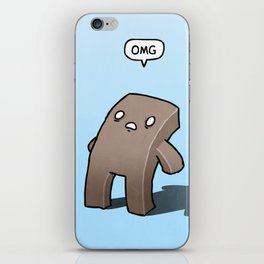 Oh The Humanity iPhone Skin