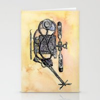 medical Stationery Cards featuring The Medical Chopper by Sean Greenberg Illustration