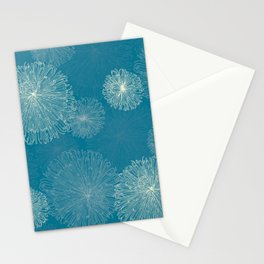 Spider Chrysanthemums Stationery Cards
