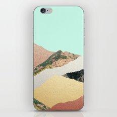 Metallic Mountains iPhone & iPod Skin