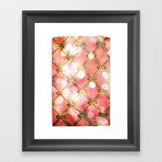 Looking Through You Framed Art Print