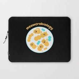 Meowcrobiology Microbiology Cat Kitten Laptop Sleeve