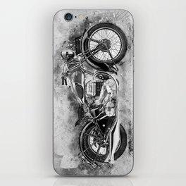 Vintage Motorcycle No2 iPhone Skin