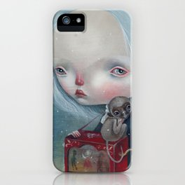 The sea is calm iPhone Case