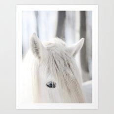 White Horse No. 2 Art Print
