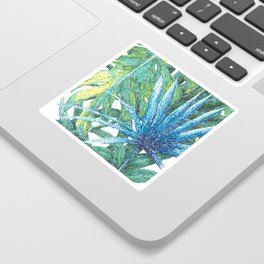 Philodendron & Flora Sticker