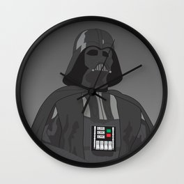 Darth Vader (Vector Art) Wall Clock