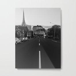 George Street, Dunedin Metal Print