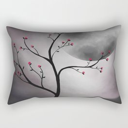 Midnight Peach Rectangular Pillow