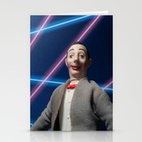 pee wee Stationery Cards featuring Pee-Wee School Photo by elkfoot