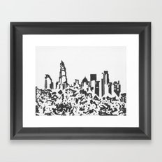 Banktown Framed Art Print