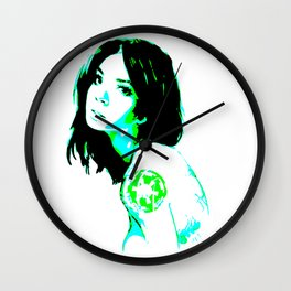 Neon Empire Wall Clock