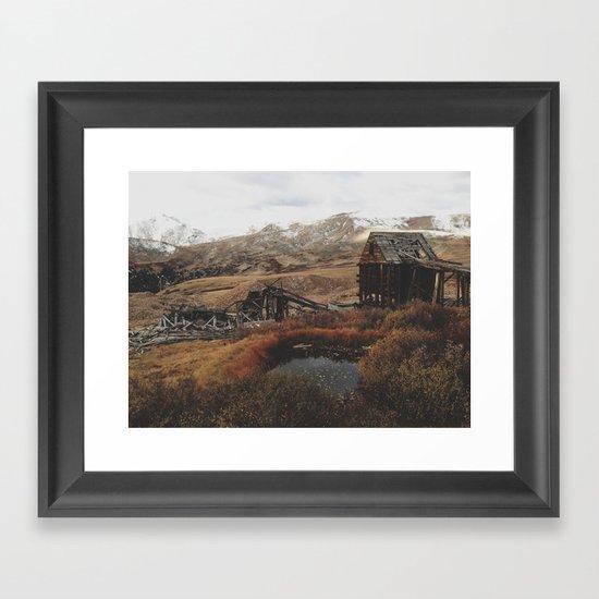 Mountain Mill Framed Art Print