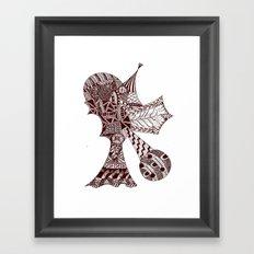Vertical Framed Art Print