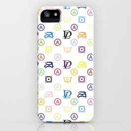 Dirty Laundry XL - in a Louis-V-Style - Living Hell iPhone Case