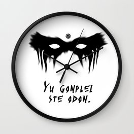 Your Fight Is Over (Trigedasleng) Wall Clock