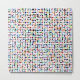 Mod Dots Metal Print