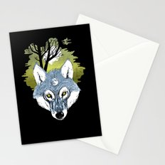 Wolf Phase Stationery Cards