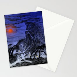 The Winter King Stationery Cards