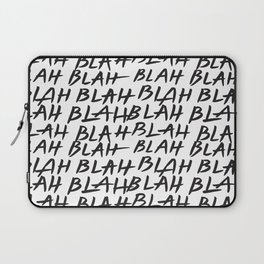Blah Blah Laptop Sleeve