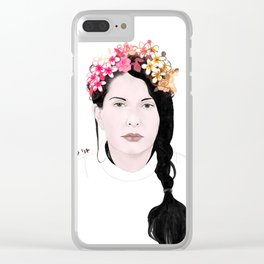 MARINA Clear iPhone Case