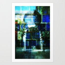 Morrocan Dreams Collage #2 Art Print