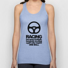 Racing Quotes Unisex Tank Top