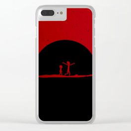 Peace among worlds Clear iPhone Case