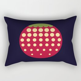 strawberry || russian black Rectangular Pillow