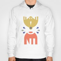 robots Hoodies featuring Robots by Ulo design