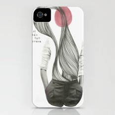 con el corazón tan suave como yo iPhone (4, 4s) Slim Case