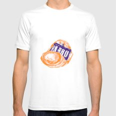 Irn-Bru can MEDIUM Mens Fitted Tee White