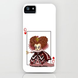 Funny Red Queen iPhone Case