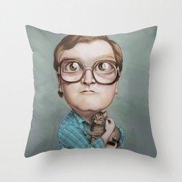 Bubbles Throw Pillow