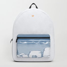 In Paradise Labyrinth Andre Bloc Backpack