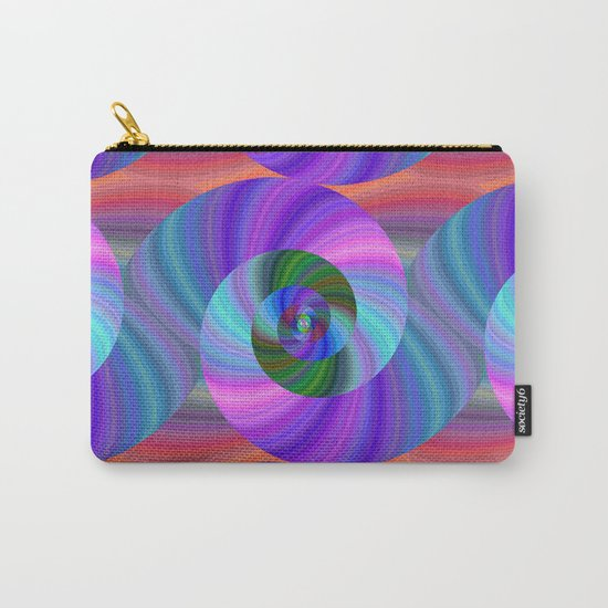 Metallic swirls Carry-All Pouch