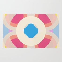 Retro Circles 02 Rug