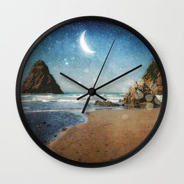 Oregon Moondust Wall Clock