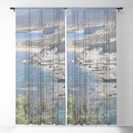 Akamas Peninsula Sheer Curtain