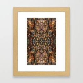 Elegant Bark Framed Art Print