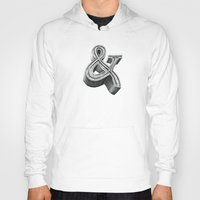 ampersand Hoodies featuring ampersand by dennis field