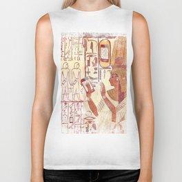 Ancient Egypt smartphones Biker Tank