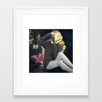 selfie Framed Art Prints featuring Selfie by Cs025