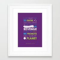 buzz lightyear Framed Art Prints featuring Buzz Lightyear by Nikita Gill